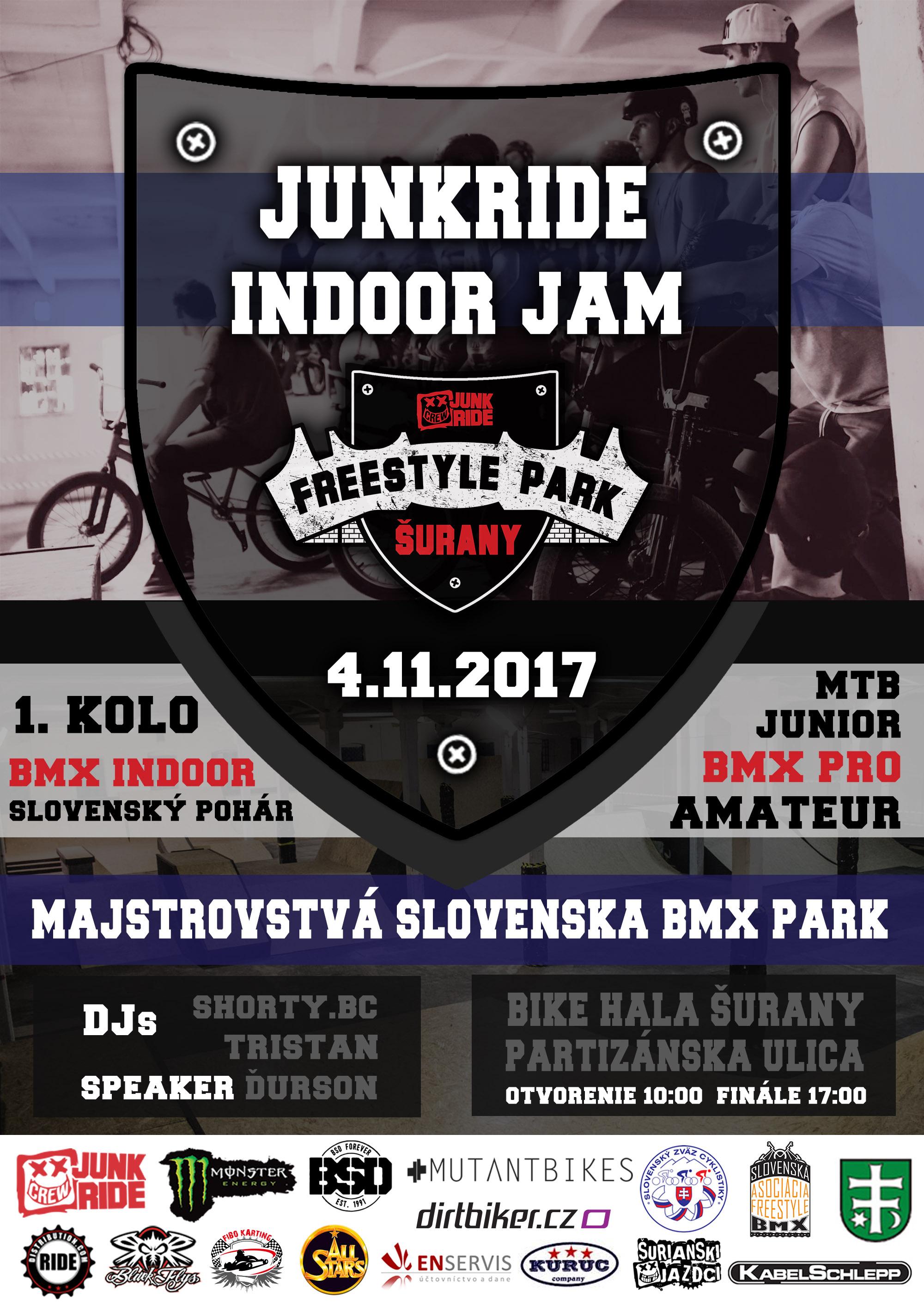 MAJSTROVSTVÁ BMX - INDOOR JAM